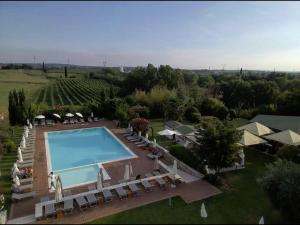 A view of the pool at Locanda Bella Italia or nearby
