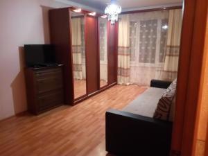 Телевизор и/или развлекательный центр в Apartament in center