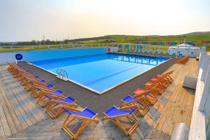 A view of the pool at Baikal View Hotel or nearby