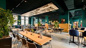 A restaurant or other place to eat at Conscious Hotel Westerpark