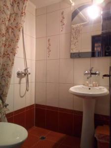 A bathroom at Hotel Splendid Ruse