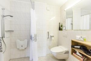 Ein Badezimmer in der Unterkunft Sonjas Himmel