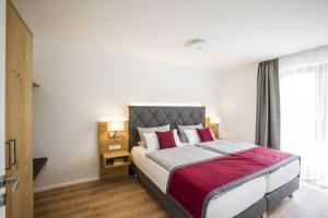 Ein Bett oder Betten in einem Zimmer der Unterkunft Sonjas Himmel