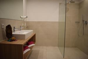 Ein Badezimmer in der Unterkunft Residence Ladurn