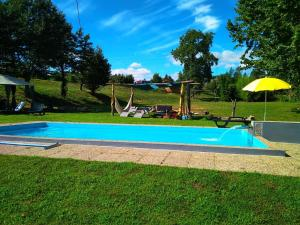 The swimming pool at or near Village Minhoure