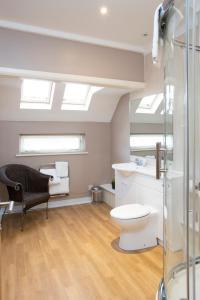 A bathroom at Breckland Lodge