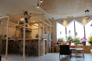 A restaurant or other place to eat at Guesthouse ushiyado