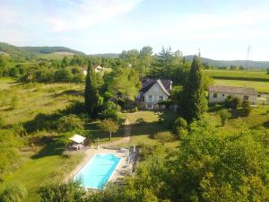 A view of the pool at Le Verger or nearby