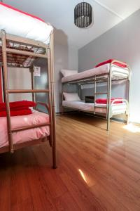 A bunk bed or bunk beds in a room at Smart Place Gare du Nord by Hiphophostels