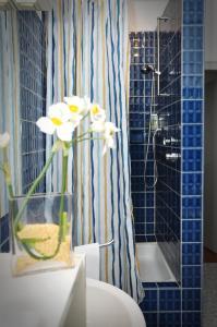 A bathroom at Hotel Litjes