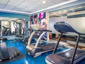 Gimnasio o instalaciones de fitness de Mercure Santiago Centro