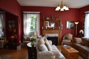 A seating area at King George B&B