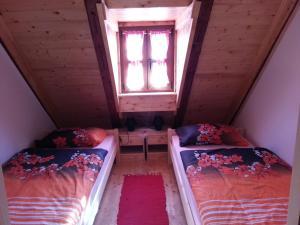 Krevet ili kreveti u jedinici u objektu Snašini kućari