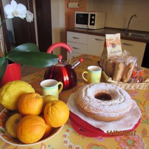 Colazione disponibile per gli ospiti di Villa Priolo