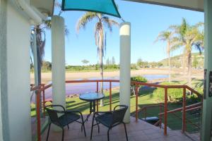 A view of the pool at Beachfront 4, 25 Willow Street or nearby
