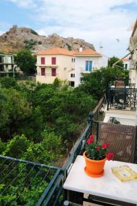 Ein Balkon oder eine Terrasse in der Unterkunft Apollo Pavilion Apartments