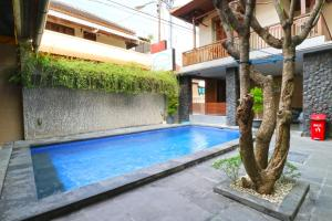 The swimming pool at or near D'Astri Guest House