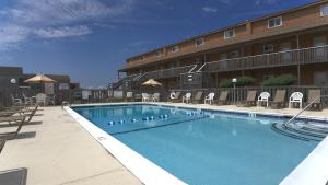 The swimming pool at or near Sun and Sound Montauk