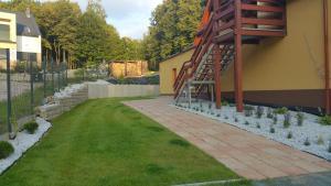 Ogród w obiekcie Sarna Karkonosze