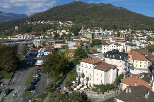 Vista aerea di Albergo Hotel Tesserete