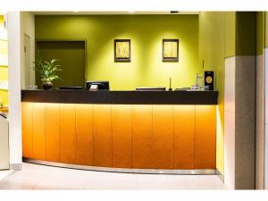 Area lobi atau resepsionis di Ueno Hotel