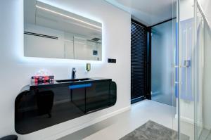 Łazienka w obiekcie Dom na Wodzie - Flohotel