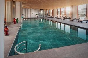 The swimming pool at or near Hotel Jakarta Amsterdam
