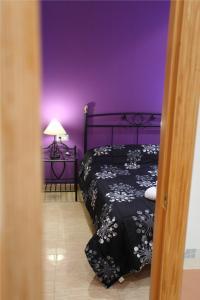 Cama o camas de una habitación en Apartamento Valencia Center