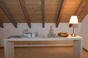 Küche/Küchenzeile in der Unterkunft BnB Alpenblick