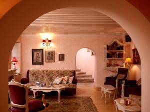 אזור ישיבה ב-Amaryllis Boutique Guest House