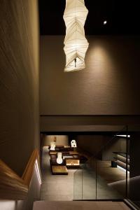 京都四條室町黎索酒店休息區