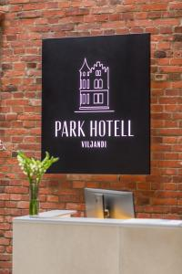 Fuajee või vastuvõtt majutusasutuses Park Hotell Viljandi