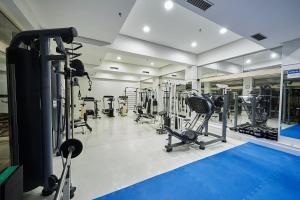 The fitness centre and/or fitness facilities at Dall'Onder Grande Hotel Bento Gonçalves