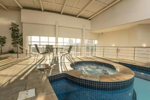 The swimming pool at or close to Dall'Onder Vittoria Hotel Bento Gonçalves