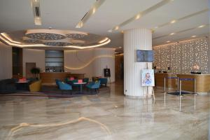 The lobby or reception area at Novotel Taiping