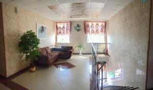Гостиная зона в Мотель Рябинушка