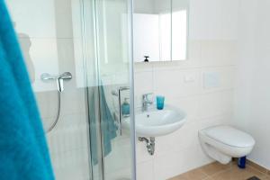 Ein Badezimmer in der Unterkunft Parkblick Appartement - Entspannung pur!