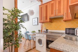 Una cocina o zona de cocina en Behap Madrid De Las Letras