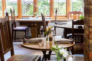 A restaurant or other place to eat at Mount Edgcumbe