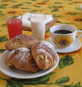 Colazione disponibile per gli ospiti di Casevacanza Soleluna