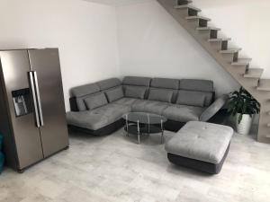 Posezení v ubytování Luxusní apartmán přímo v centru u hotelu Thermal