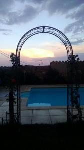 The swimming pool at or near Antiguo Palacio De Atienza