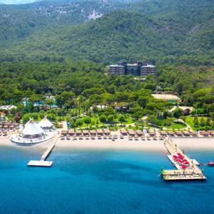 Een luchtfoto van Paloma Foresta Resort