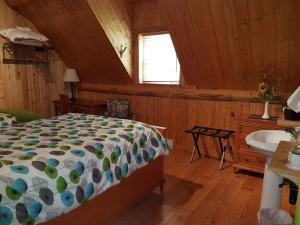 A bed or beds in a room at Domaine Valga