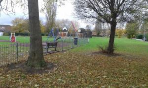 Children's play area at Mariskals