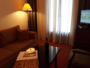 Χώρος καθιστικού στο Ξενοδοχείο Απολλώνια