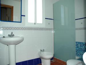 A bathroom at Dunas y Mar