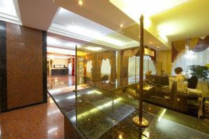 The lobby or reception area at Dniprovski Zori