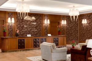 Lobby alebo recepcia v ubytovaní Grand Hotel Kempinski High Tatras