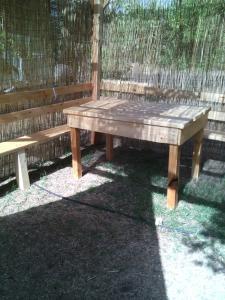 Attrezzature per barbecue disponibili per gli ospiti del campeggio